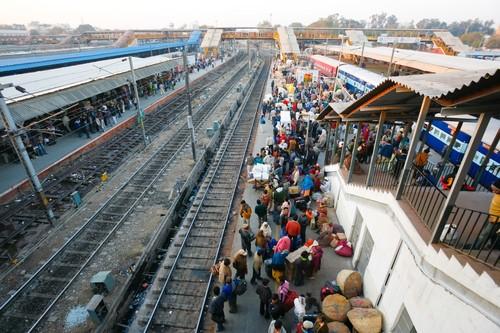 Stazione dei treni, Delhi