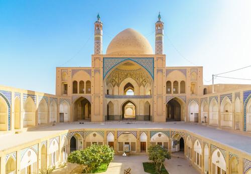 Moschea Agha Bozorg, Kashan