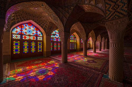 Moschea Rosa, Shiraz