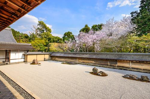 Kyoto - Ryoanji giardino di meditazione Zen