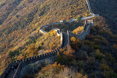 Xi'An - Grande Muraglia Mutianyu