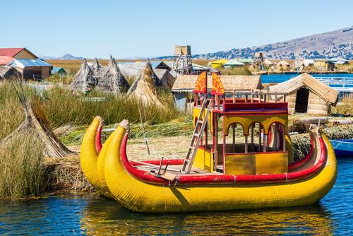 Uros Lago Titicaca