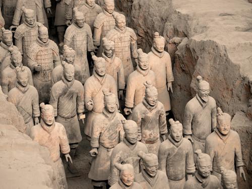 Xi An l'esercito di terracotta